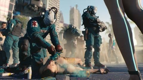 Cyberpunk 2077 _0451:// Trauma Team Tower