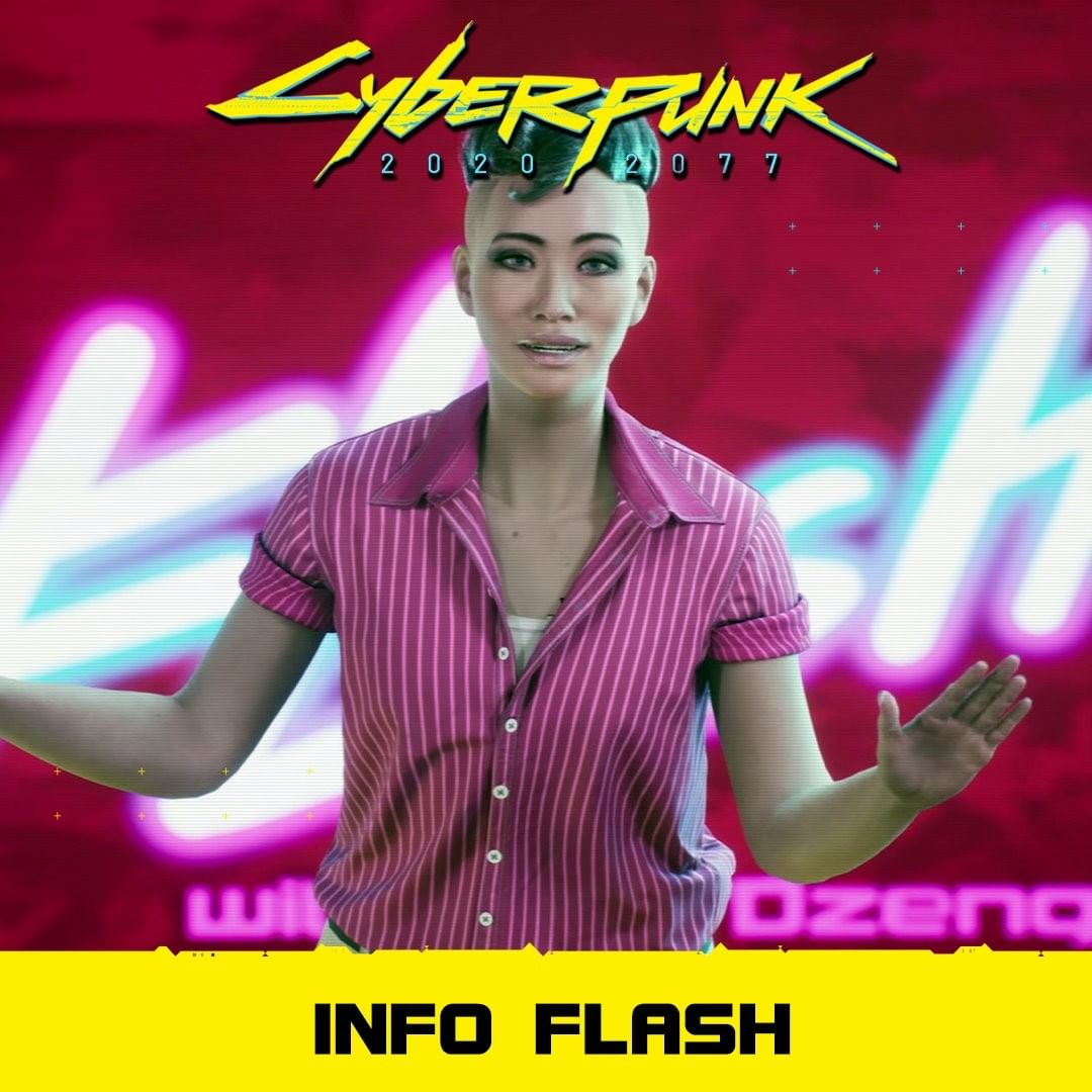 Info-Flash! #cyberpunk2077 #cyberpunk2077deutsch