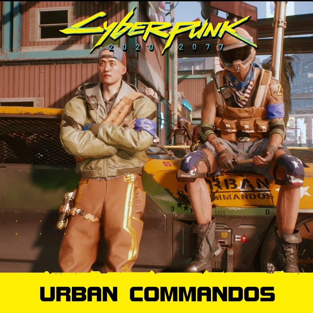 Urban Commandos? :#cyberpunk2077